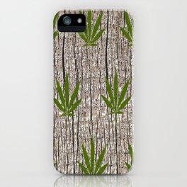 Green Leaf iPhone Case