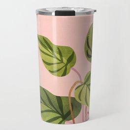 Upstart / Tropical flora Travel Mug