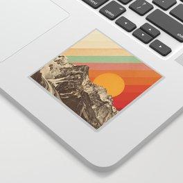 Mountainscape 1 Sticker