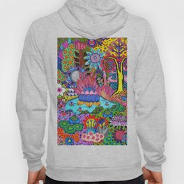 Pond Abstract Hoody
