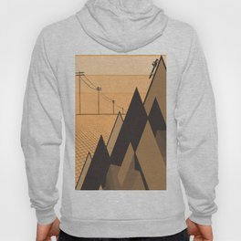 Little mountains and a car  Hoody