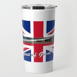 Vulcan and Union Jack Travel Mug