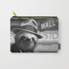 The Sloth of Wall Street Carry-All Pouch