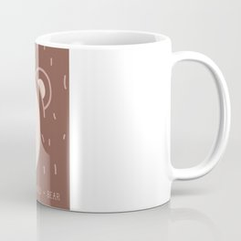 WILD + BEAR print Coffee Mug
