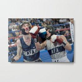 boxings Metal Print
