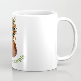 In A World Full Of Apples, Be A Pineapple Coffee Mug