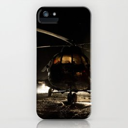1827. Expedition 29 Landing iPhone Case