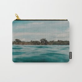 Shipwrecked Ocean Blues Carry-All Pouch