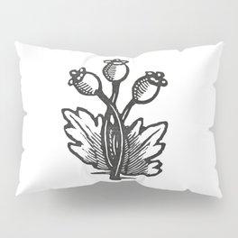 Poppy Flower Pillow Sham