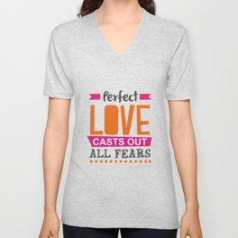 Perfect Love Unisex V-Neck