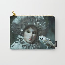 Owls Talk - dedicated to thee_owl_queen Carry-All Pouch