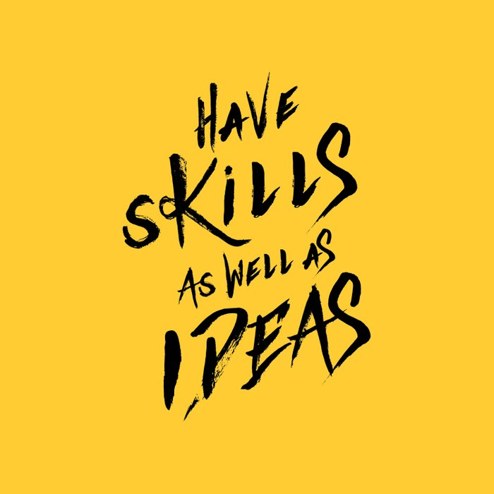 have Skills as well as ideas Duvet Cover