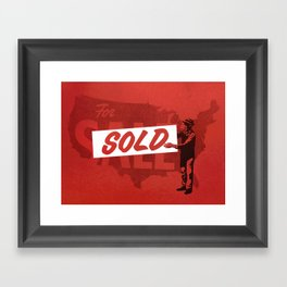 Sold Framed Art Print