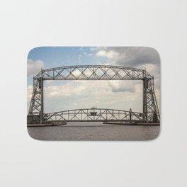 Aerial Lift Bridge-color Bath Mat
