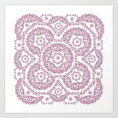 Pink Rhapsody Art Print