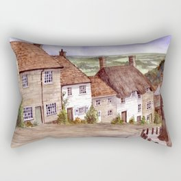 Golden Hill, Shaftesbury Rectangular Pillow