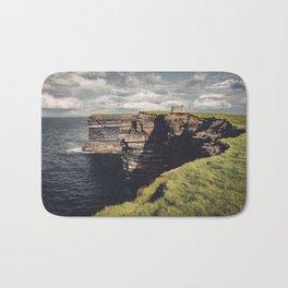 Irish Sea Cliffs Bath Mat