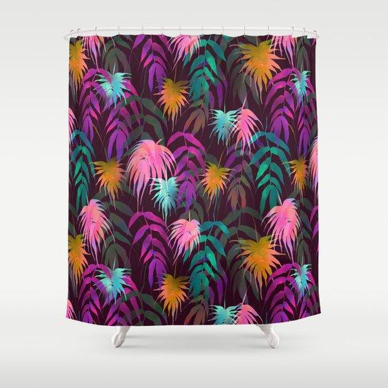 New Palm Beach - Fall Shower Curtain