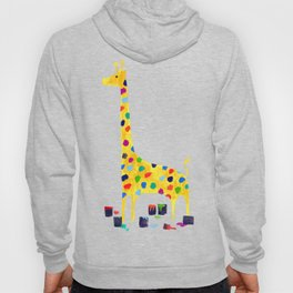 Paint by number giraffe Hoody