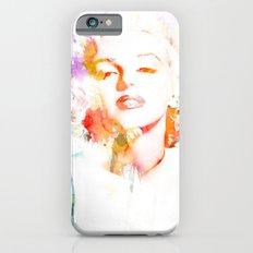 Marilyn Monroe Watercolor Pop Art33 iPhone 6s Slim Case