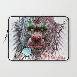 Not Clowns Laptop Sleeve