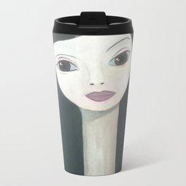 in rose wood Metal Travel Mug