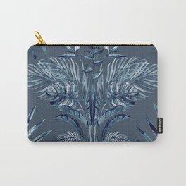 Indigo Batik Bohemian Palms Carry-All Pouch