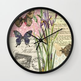 Lilium Wild Flower Wall Clock