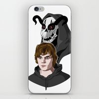 kris tate iPhone & iPod Skins featuring Tate Langdon by Cécile Appert