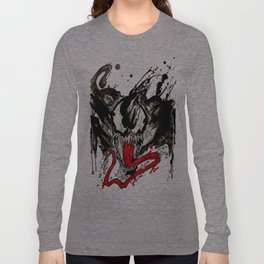 Venom - Splattered Symbiote Long Sleeve T-shirt