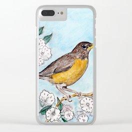 Connecticut Clear iPhone Case