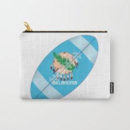 Oklahoma State USA Football Flag Carry-All Pouch