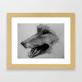 The Fox Framed Art Print