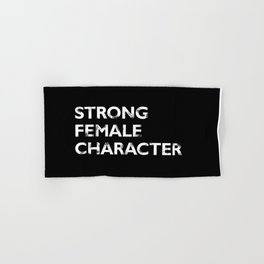Strong Female Character Hand & Bath Towel