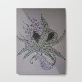 Smokin Buds Metal Print