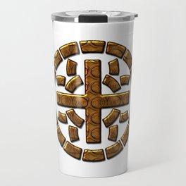 Really Big Moth Symbol Travel Mug