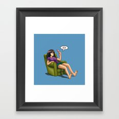 Batteryless Framed Art Print