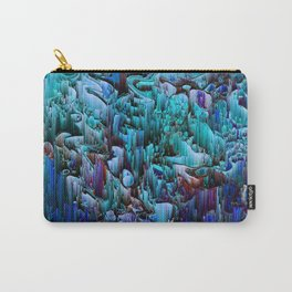 I'm No Glitch - Abstract Pixel Art Carry-All Pouch