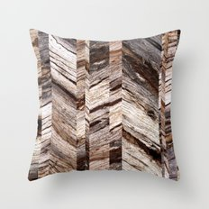 Parquetry No.1 Throw Pillow