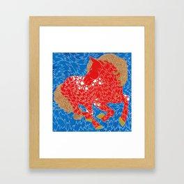 Iskra or Spark  Framed Art Print