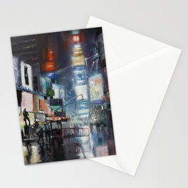 Nights on Broadway Stationery Cards