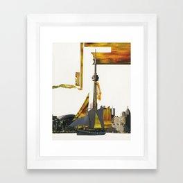 Toronto Waters Framed Art Print