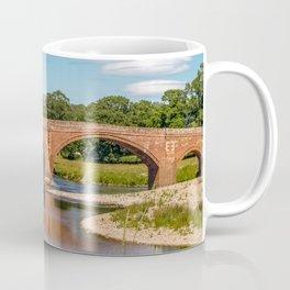Eden Bridge Over River Eden in Lazonby  Coffee Mug