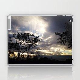 Peaceful and powerful sunset Laptop & iPad Skin