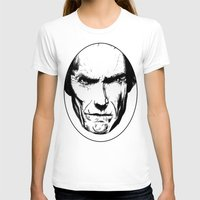 clint eastwood T-shirts featuring Clint Eastwood by Zombie Rust