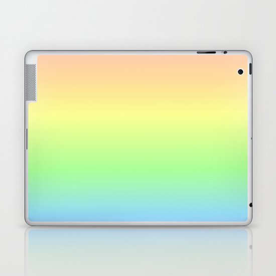 Pastel Rainbow Gradient by colorpopdesign