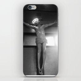 neon jesus. iPhone Skin