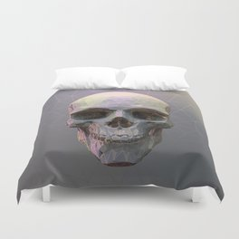 Skull Colorful Wires 1 Duvet Cover