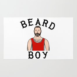 Beard Boy: Laurent Rug
