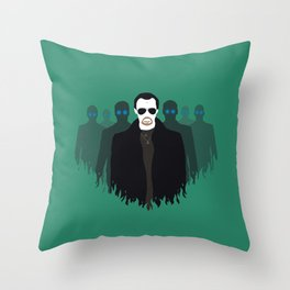 The Bitter End - Variant Throw Pillow